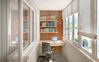 Рулонные шторы для лоджии — особенности выбора